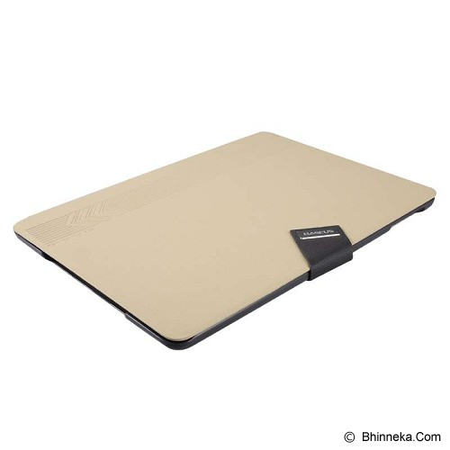 BASEUS Faith Leather Case for Apple iPad Air [LTAPIPAD5-XY11] - Khaki - Casing Tablet / Case